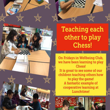 Cooperative Learning in Chess Club!